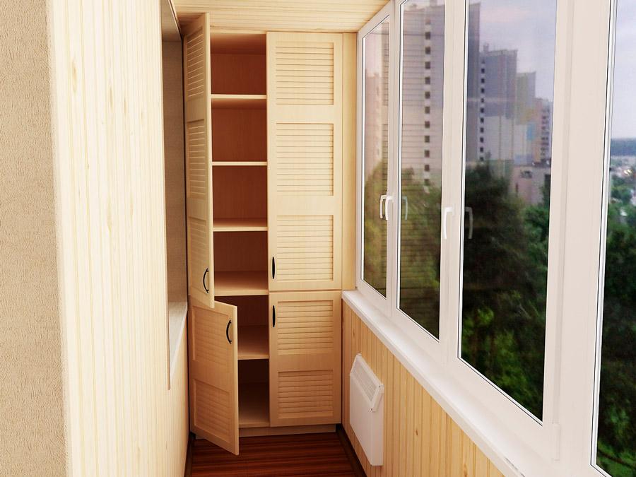 Шкафчики на балконе стоимость.